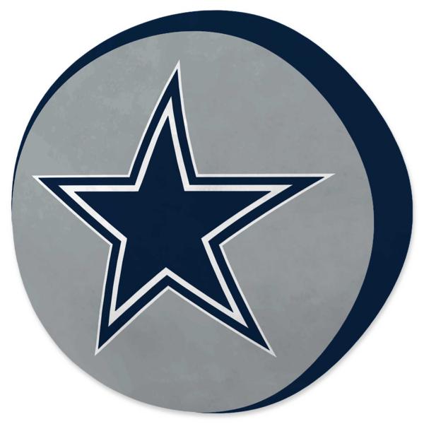 Dallas Cowboys Round Cloud Pillow