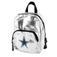 Dallas Cowboys Spotlight Silver Mini Backpack