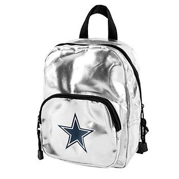 Dallas Cowboys Spotlight Silver Mini Backpack