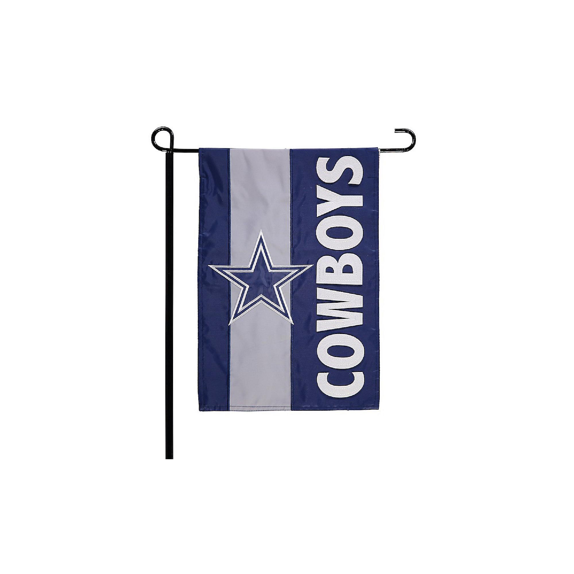 Dallas Cowboys Embellished Garden Flag