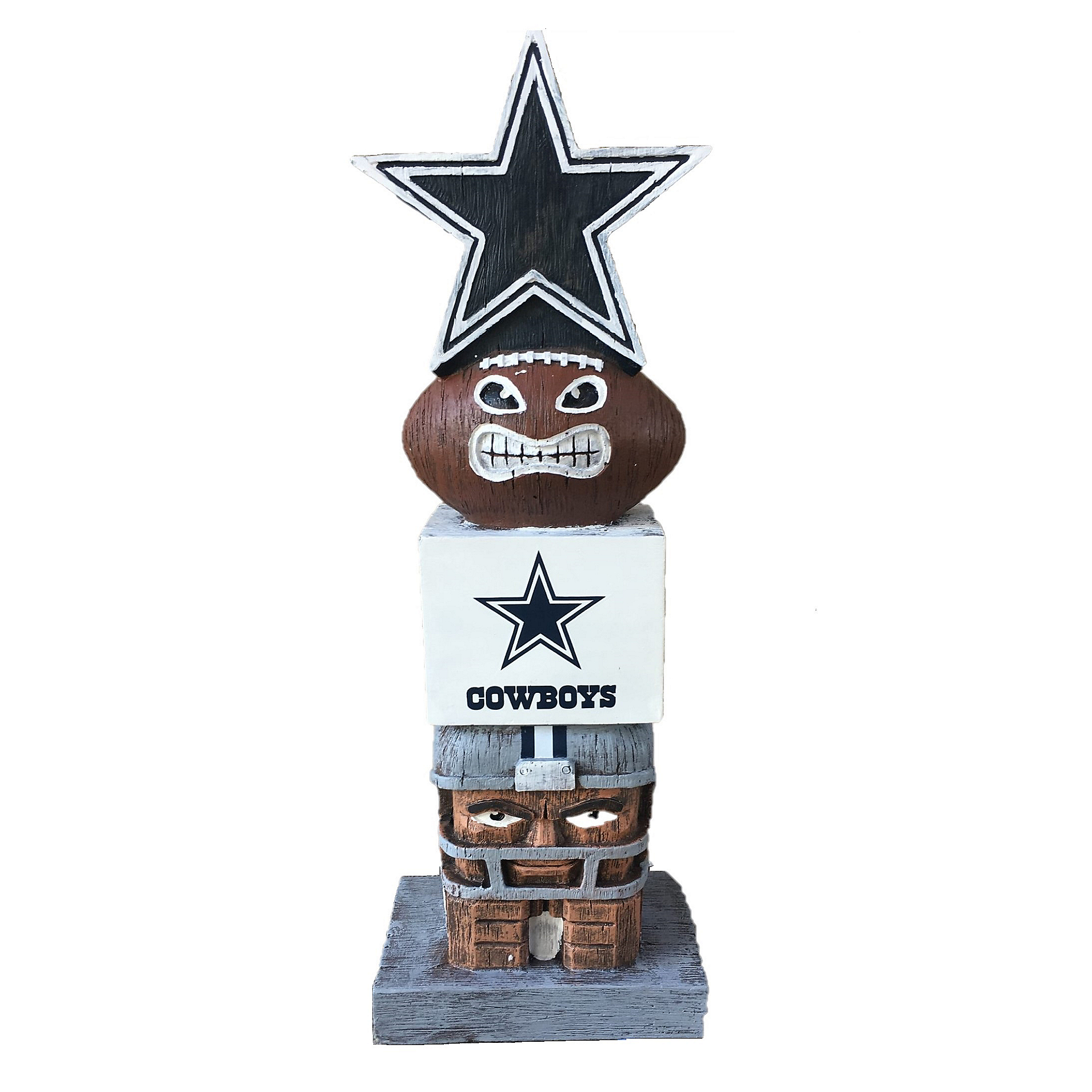 Dallas Cowboys Tiki Totem with Star