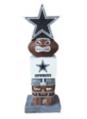 Dallas Cowboys Tiki Totem with Star