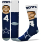 Dallas Cowboys Dak Prescott Selfie Socks
