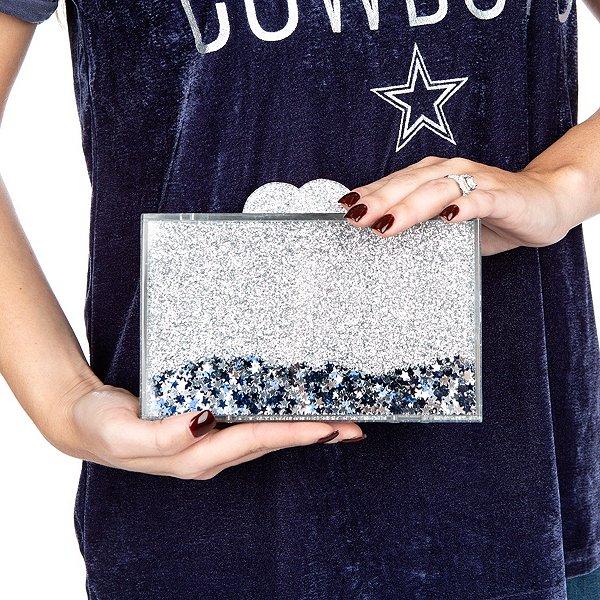 Bari Lynn Confetti Acrylic Clutch