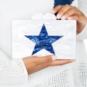 Studio Bari Lynn Pearl Star Acrylic Clutch