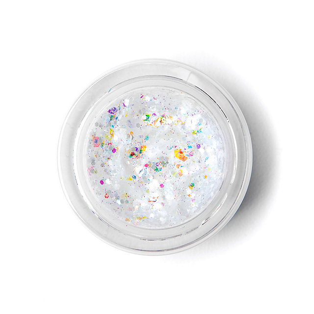 Studio Galexie Glister White Star Glitter Jar