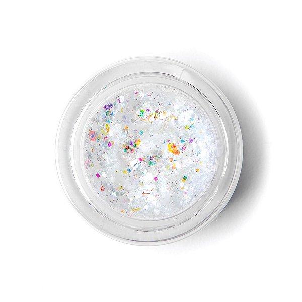 Galexie Glister White Star Glitter Jar