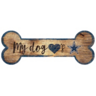 Dallas Cowboys Dog Bone Sign