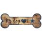 Dallas Cowboys Dog Bone Sign