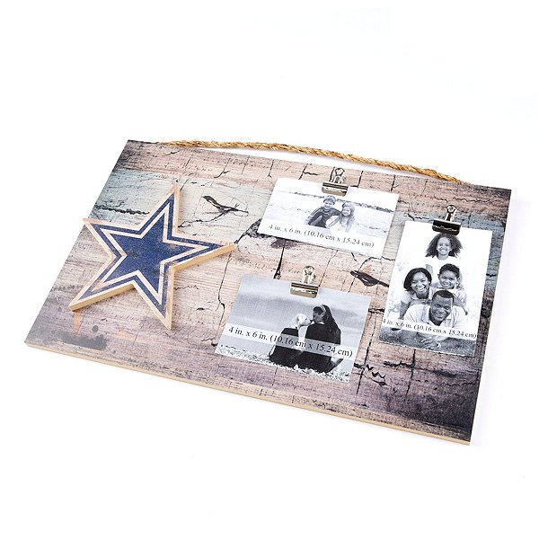 Dallas Cowboys 11x19 3-Clip Picture Frame