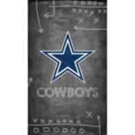 Dallas Cowboys 11x19 Chalkboard Canvas Sign