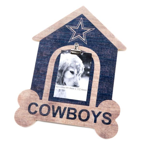 Dallas Cowboys Dog House Clip Sign