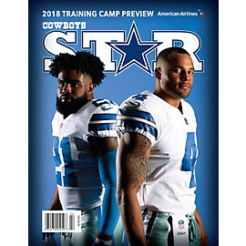 Dallas Cowboys Star Magazine Training Camp Issue 2018