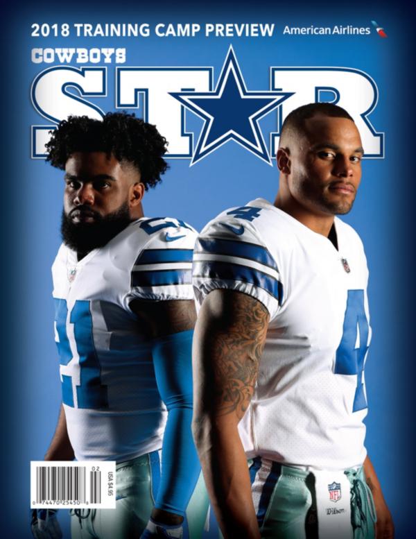 Dallas Cowboys Star Magazine Training Camp Issue 2018