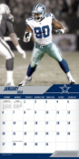 2019 12x12 Dallas Cowboys Team Wall Calendar