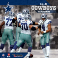 2019 7x7 Dallas Cowboys Team Mini Calendar