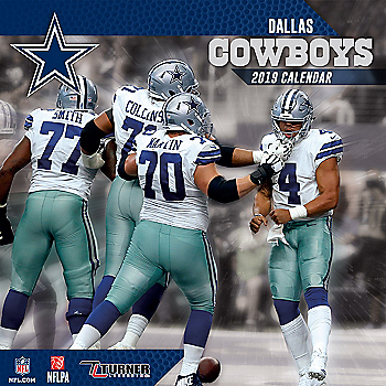 0aba8696be8 2019 7x7 Dallas Cowboys Team Mini Calendar