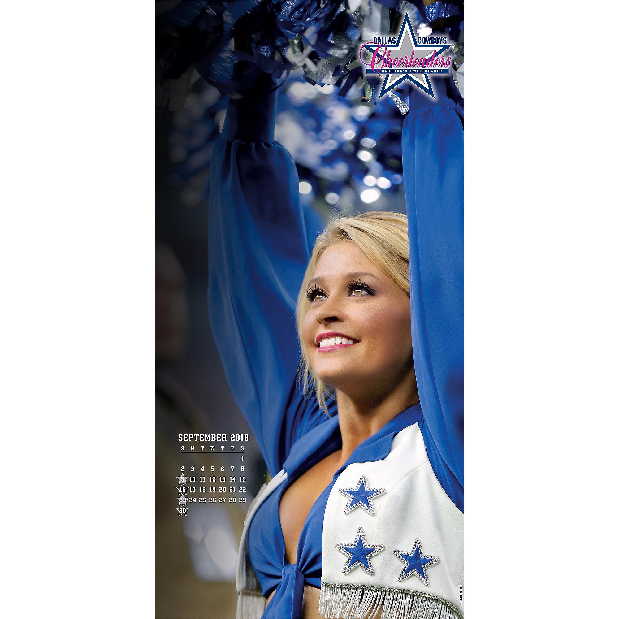 46610f63f3 2019 12x12 Dallas Cowboys Cheerleaders Sideline Wall Calendar ...
