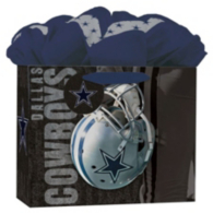 Dallas Cowboys Medium GoGo Gift Bag