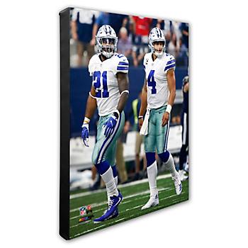 Dallas Cowboys 16x20 Dak and Zeke Canvas