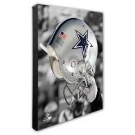 Dallas Cowboys 16x20 Helmet Canvas