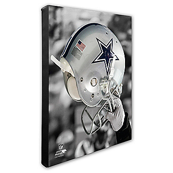 Dallas Cowboys 16x20 Helmet Canvas