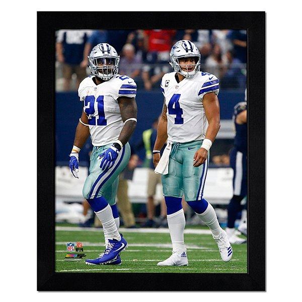 Dallas Cowboys 11x14 Dak and Zeke Photo Frame