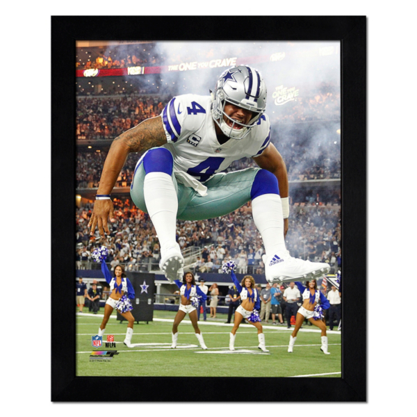 Dallas Cowboys 11x14 Dak Action Photo Frame