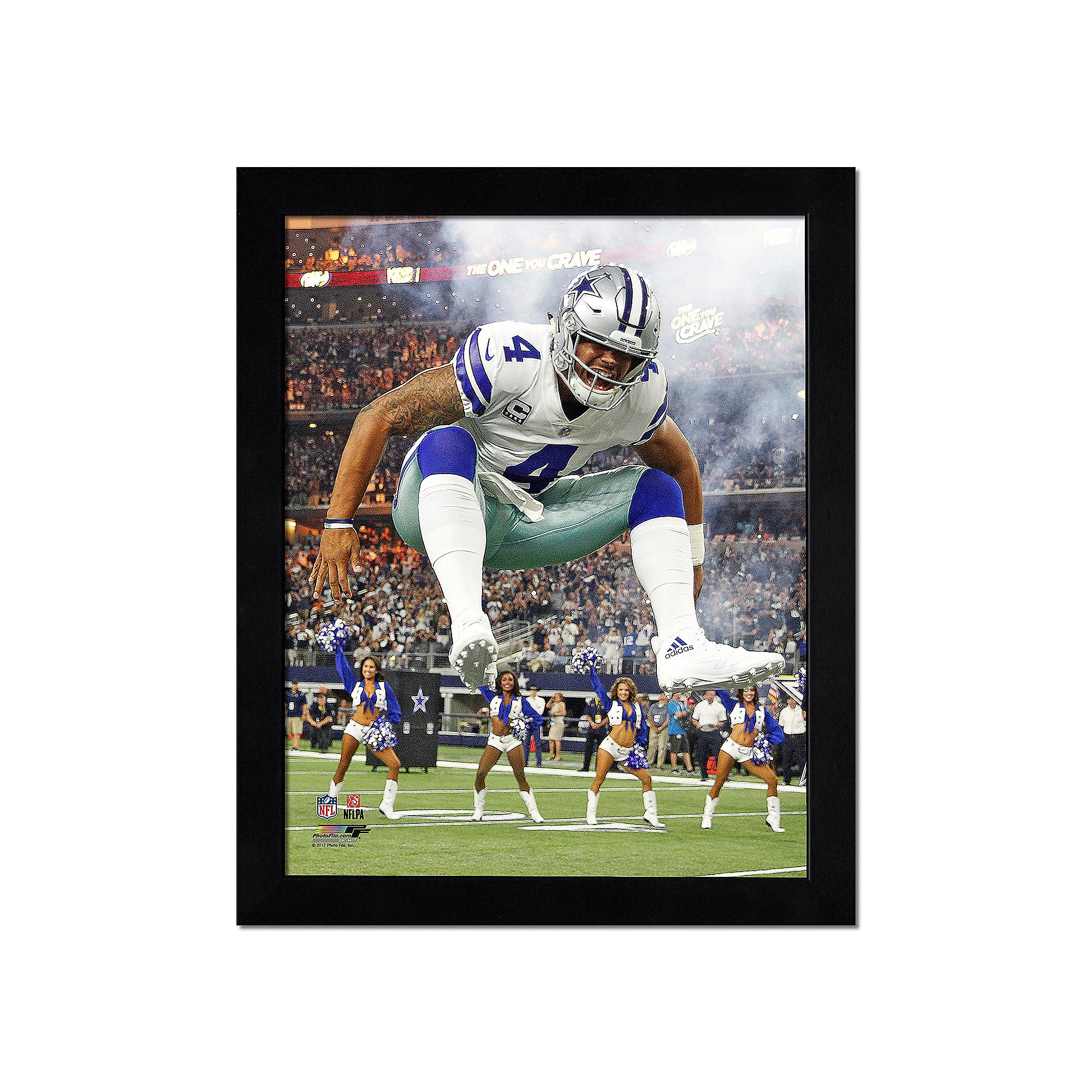 Dallas Cowboys 11x14 Dak Action Photo Frame