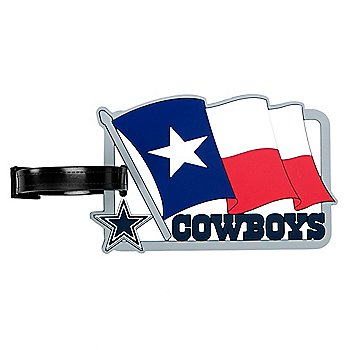 Dallas Cowboys Waving Flag Bag Tag