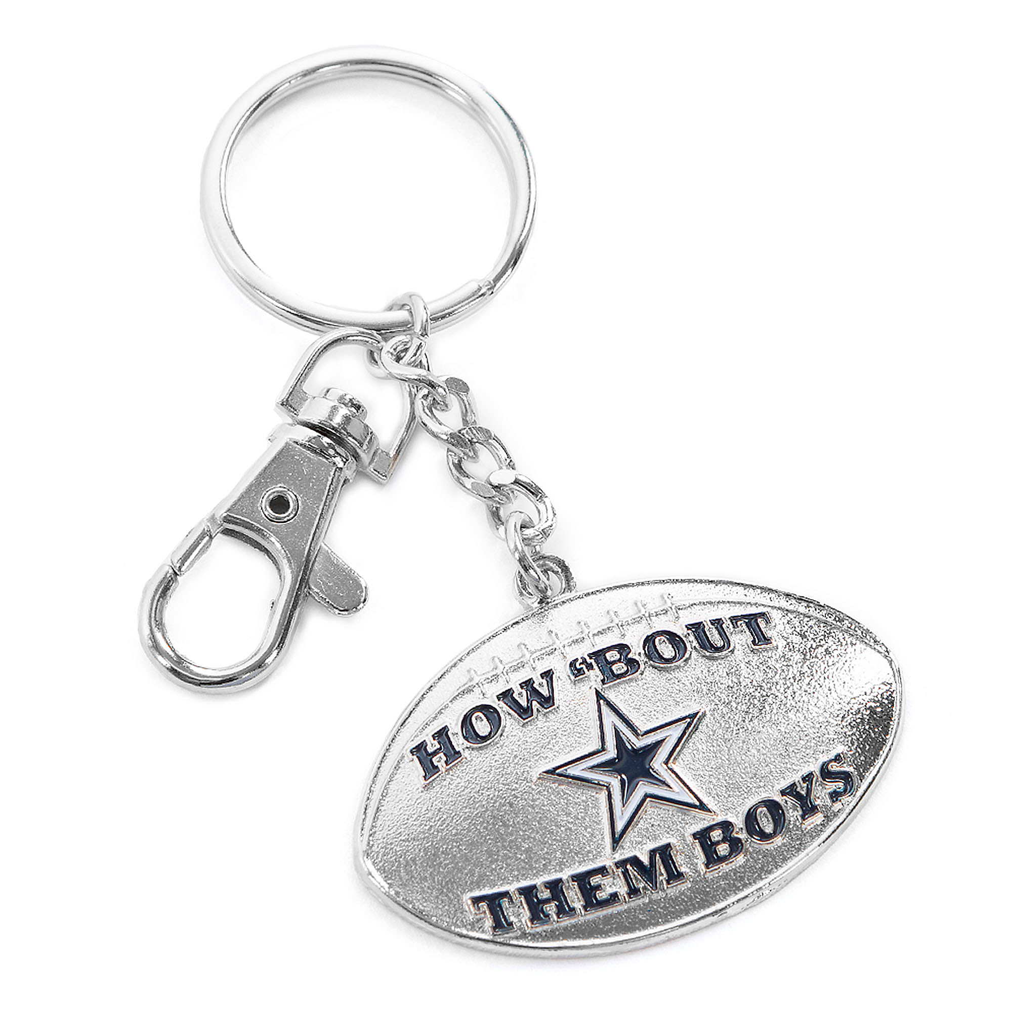 Dallas Cowboys How Bout Them Boys Keychain
