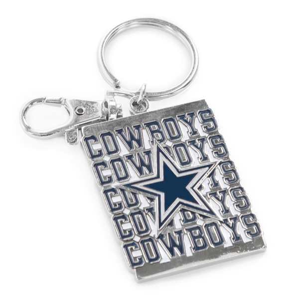 Dallas Cowboys Repeat Cowboys Keychain