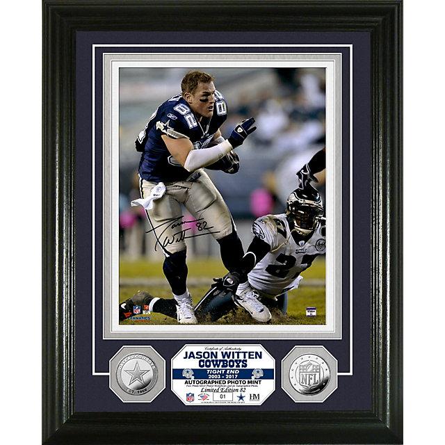 Dallas Cowboys 8x10 Jason Witten Autographed Photo Mint Frame