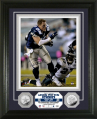 Dallas Cowboys Jason Witten Autographed Photo Mint Frame