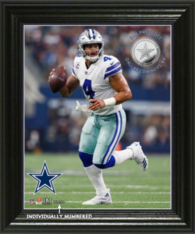 Dallas Cowboys Dak Prescott Elite Series Photo Mint Frame