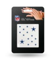 Dallas Cowboys Nail Tattoos