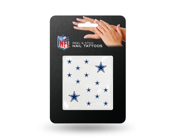 Dallas Cowboys Nail Tattoos