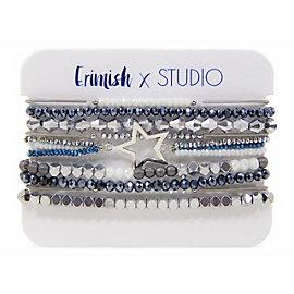 Studio Erimish Metal Star Bracelet Set