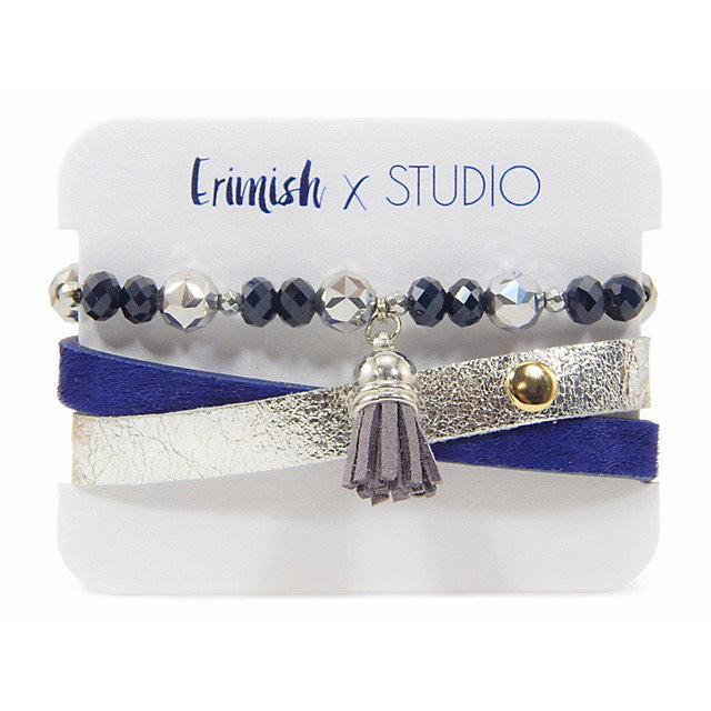 Studio Erimish Tassel Wrap Bracelet Set