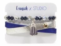 Studio Erimish Tassel Bracelet Set