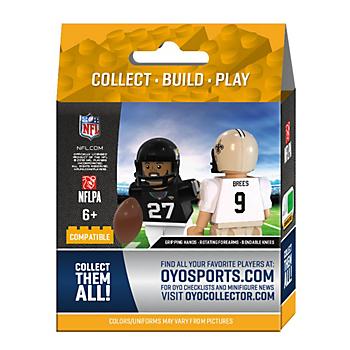Dallas Cowboys OYO Team Star Minifigure Pack