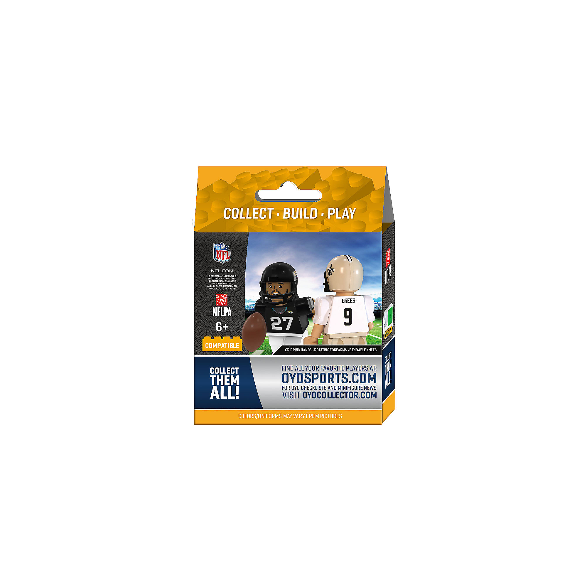 Dallas Cowboys OYO Team Star Minifigure Pack