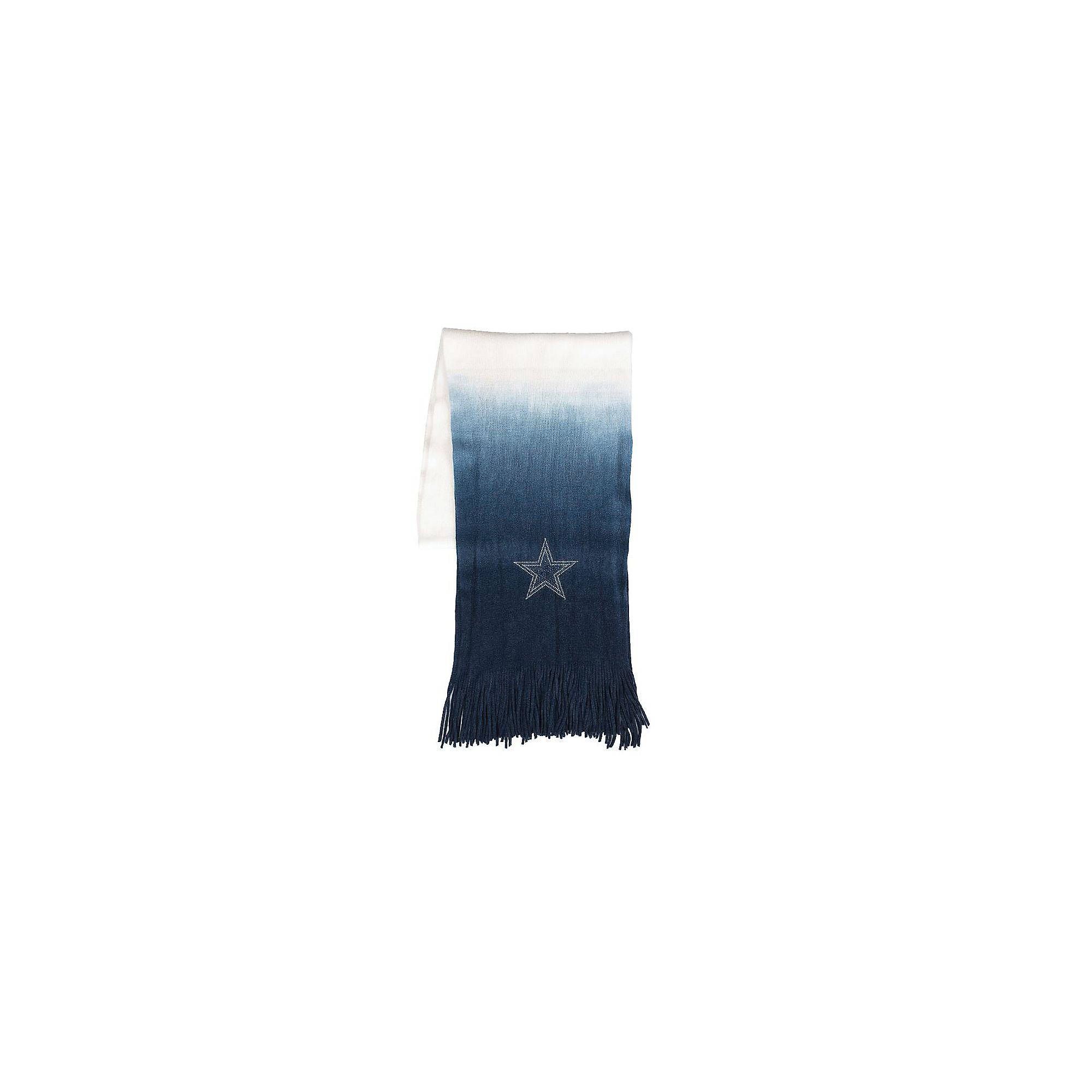 Dallas Cowboys Dip Dye Scarf