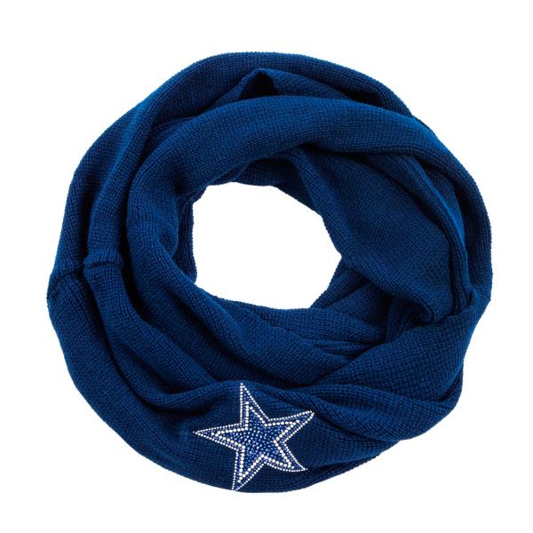 Dallas Cowboys Knit Infinity Scarf