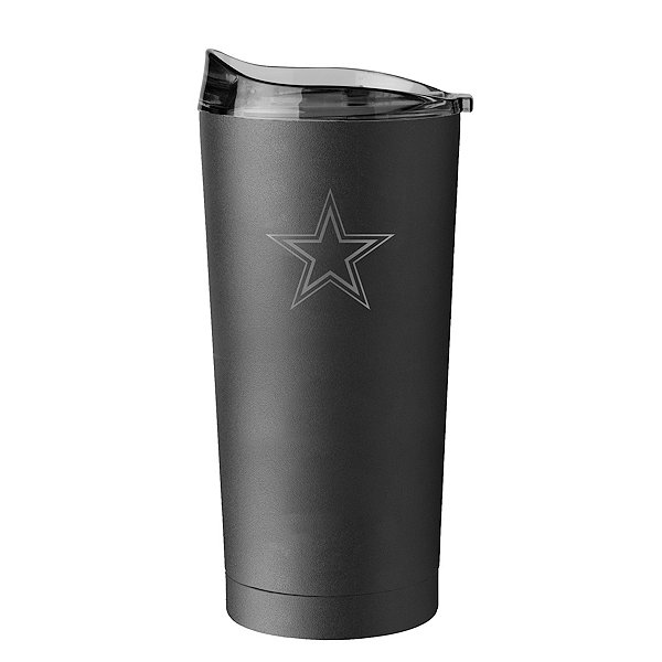 Dallas Cowboys 20oz Powder Coated Tumbler