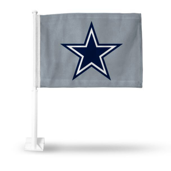 Dallas Cowboys Star Car Flag