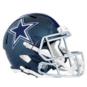 Dallas Cowboys Riddell Speed Replica Carbon Blue Helmet