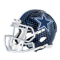 Dallas Cowboys Riddell Speed Mini Carbon Blue Helmet