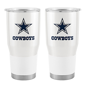 Dallas Cowboys 30oz White Ultra Tumbler