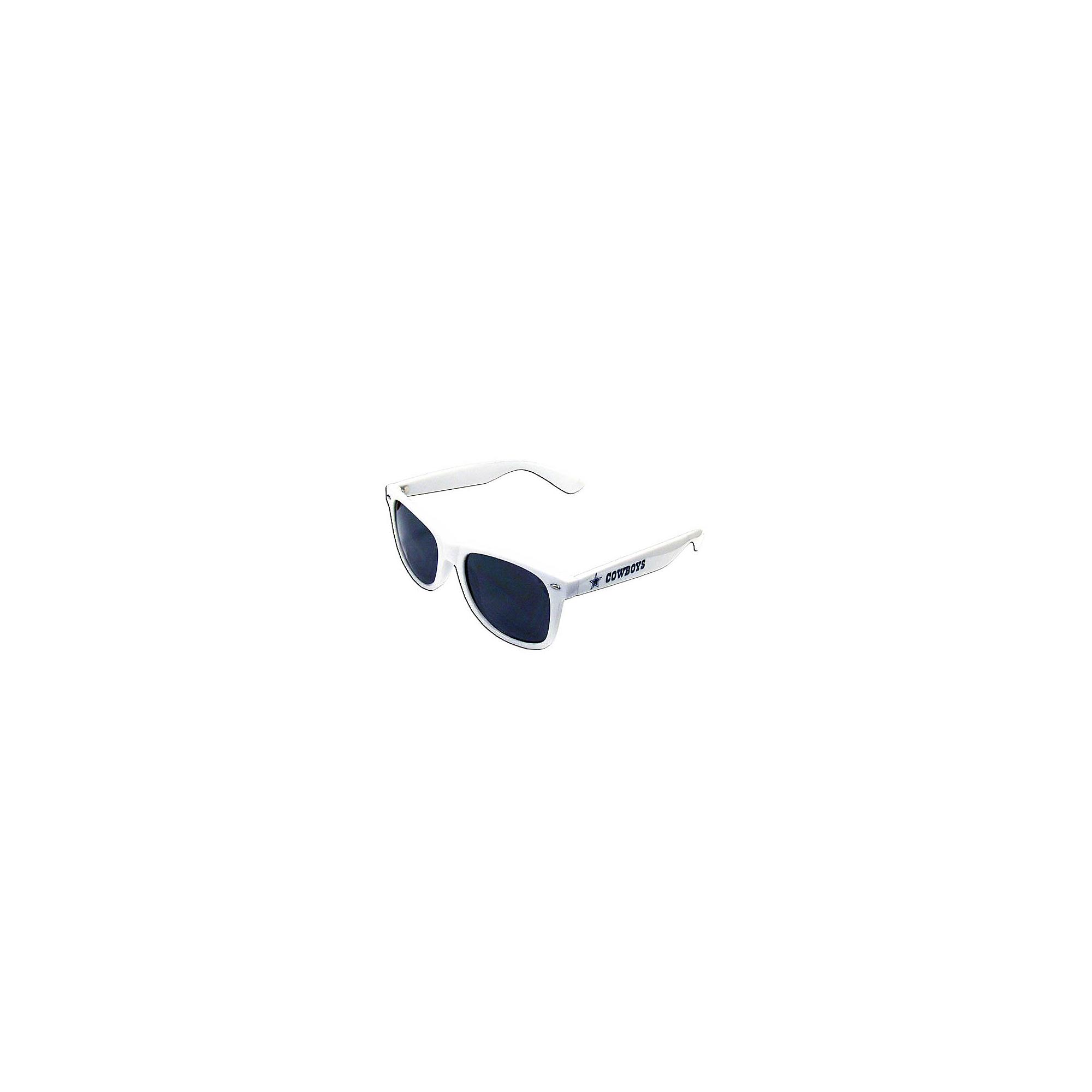 Dallas Cowboys White Beachfarer Sunglasses